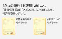 2つの特許