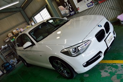 BMW1シリーズにダイヤモンドキーパー