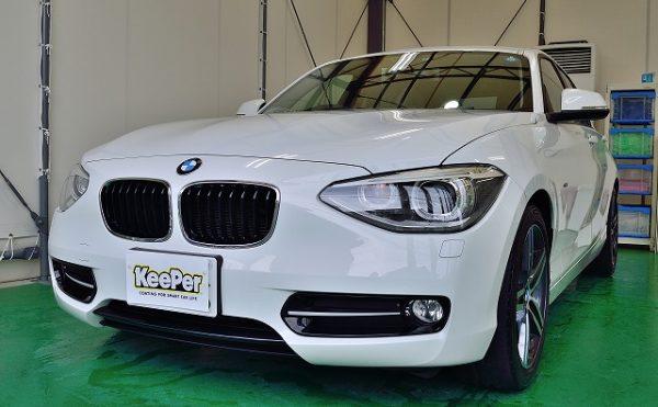 BMW1シリーズダイヤモンドキーパーBメンテナンス