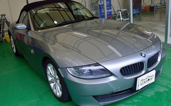 BMWZ4にクリスタルキーパー