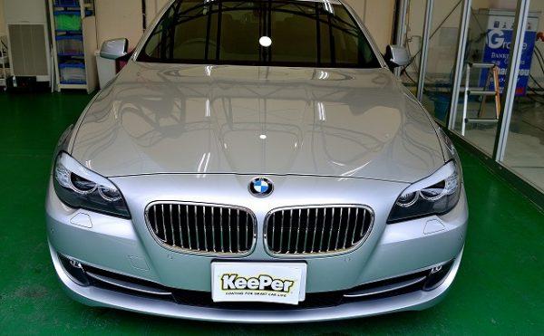 BMW5シリーズにダブルダイヤキーパーBメンテナンス