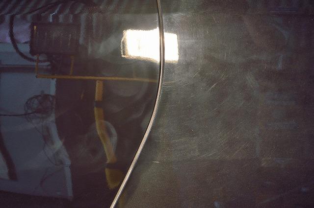 鏡面研磨の比較