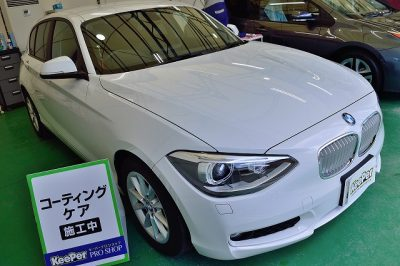 BMW1シリーズにコーティングケア