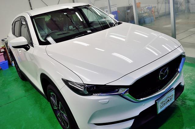 新車CX-5にクリスタルキーパー施工