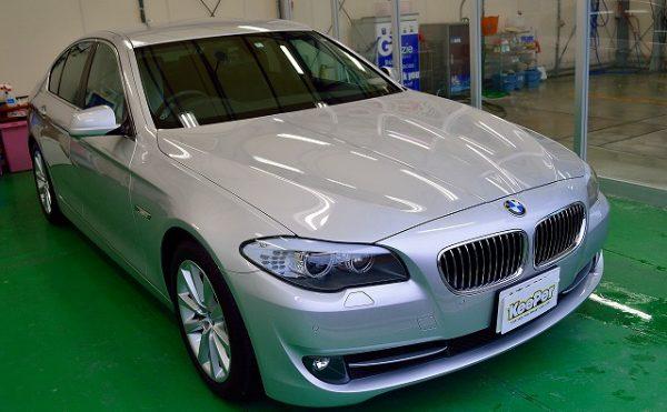 BMW5シリーズにダブルダイヤキーパーのBメンテナンス