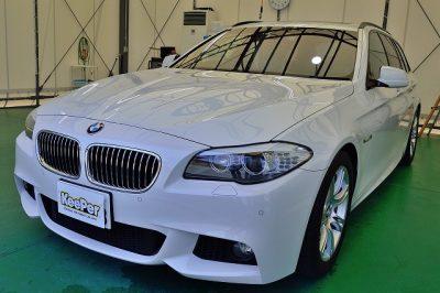 BMW5シリーズにダイヤモンドキーパーAメンテナンス