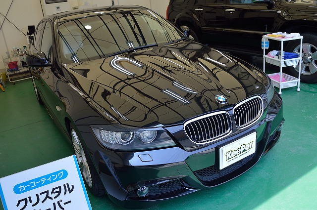 BMW3シリーズにクリスタルキーパー施工