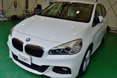 BMW2シリーズアクティブツアラーにクリスタルキーパー