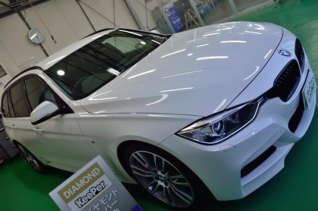 BMW3シリーズにダイヤモンドキーパー