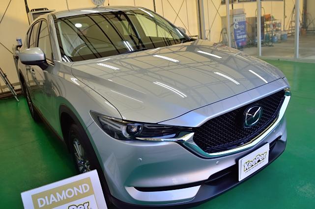 新車・CX-5にダイヤモンドキーパー